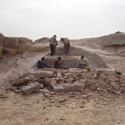 2011. Granīta klints. Asuāna, Ēģipte
