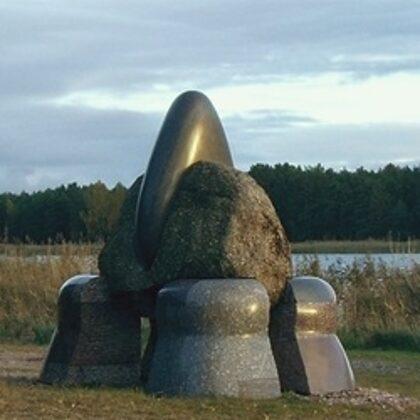 MYTH. 2010. Granite. 370/400/250cm Vakarbulli, Riga