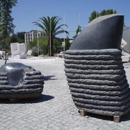 THE OPENING OF BUDS. 2012. Granite. 200/500/130cm. Caldas da Rainha, Portugal