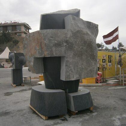 JOINT. 2017. Granite. 300/160/200cm. Tehran, Iran